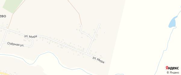 Нагорная улица на карте села Новокатаево с номерами домов