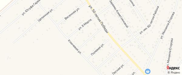 Улица Красильникова на карте села Шарана с номерами домов
