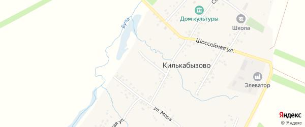 Речная улица на карте села Килькабызово с номерами домов