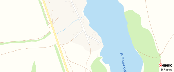 Степная улица на карте села Каменки с номерами домов