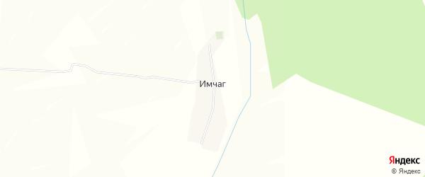 Карта деревни Имчага в Башкортостане с улицами и номерами домов