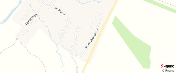 Молодежная улица на карте села Килькабызово с номерами домов