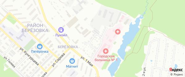 Короткий переулок на карте Воткинска с номерами домов