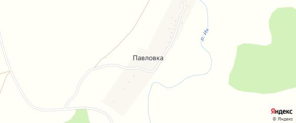 Озерная улица на карте деревни Павловки с номерами домов
