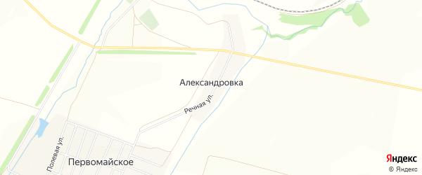 Карта деревни Александровки в Башкортостане с улицами и номерами домов