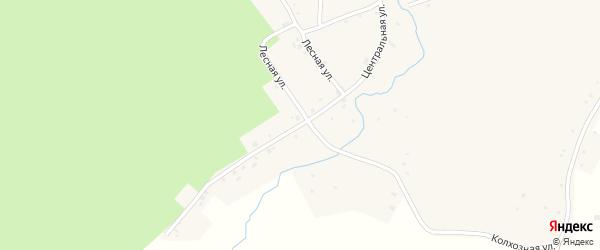 Центральная улица на карте села Саклово с номерами домов