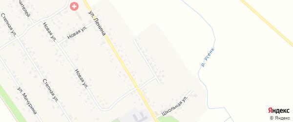 Коммунистическая улица на карте села Карамалы-Губеево с номерами домов