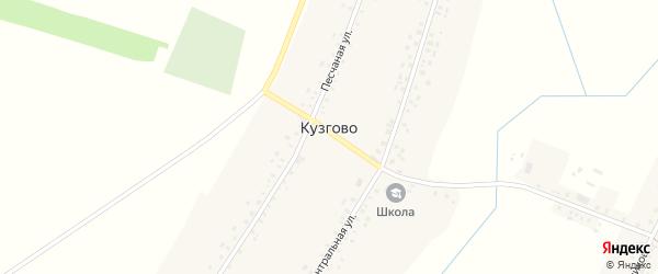 Улица Нефтяников на карте деревни Кузгово с номерами домов
