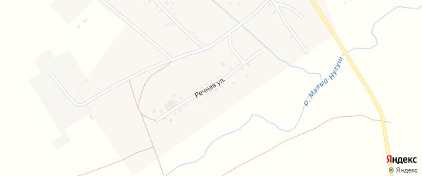 Речная улица на карте села Туктагулово с номерами домов