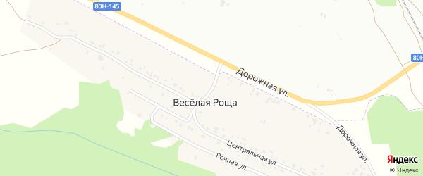 Девятнадцатая улица на карте Микрорайона Надежды с номерами домов
