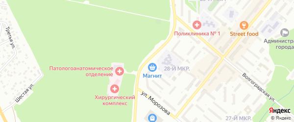 Улица Революционеров на карте Белебея с номерами домов