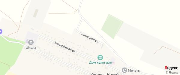 Солнечная улица на карте села Кандры с номерами домов