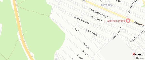 СНТ Нефтяник на карте поселка Приютово с номерами домов