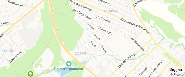СТ Буровик 1 на карте Белебея с номерами домов