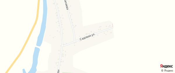Садовая улица на карте села Староянзигитово с номерами домов