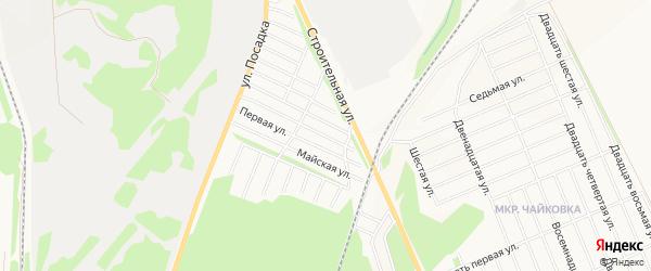 СТ Дружба на карте Белебея с номерами домов