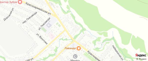 Кузнечный переулок на карте Белебея с номерами домов
