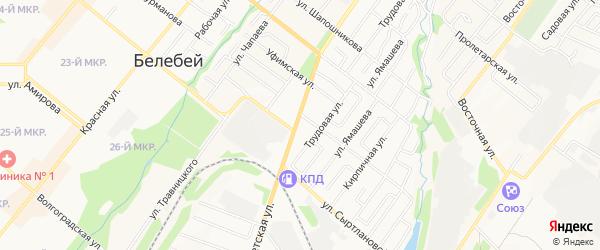 ГСК Квартал 119 А на карте Белебея с номерами домов