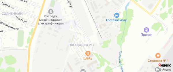 Улица Площадка РТС на карте Белебея с номерами домов