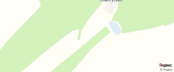 Луговая улица на карте деревни Новогусево с номерами домов