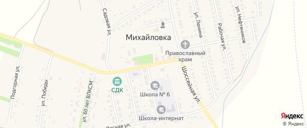 Девонская улица на карте села Михайловки с номерами домов
