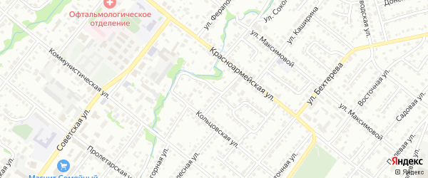 Социалистическая улица на карте Белебея с номерами домов