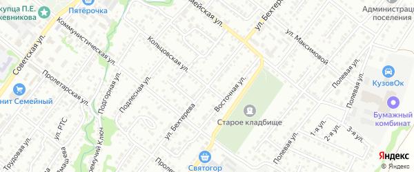 Улица им Бехтерева на карте Белебея с номерами домов