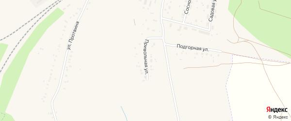 Привольная улица на карте села Аксаково с номерами домов