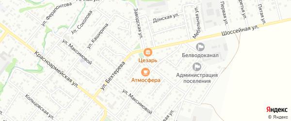 Мало-Мельничная улица на карте Белебея с номерами домов