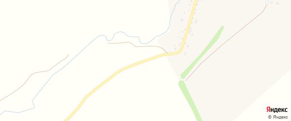 Центральная улица на карте села Ермухаметово с номерами домов