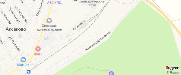 Разъезд 1432 км на карте деревни Кума-Косяка с номерами домов