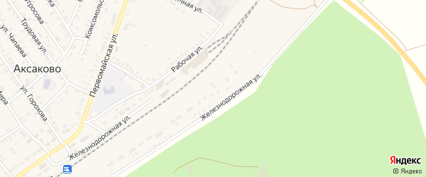 Полевая улица на карте деревни Кума-Косяка с номерами домов