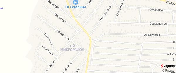 Нагорная улица на карте села Николо-Березовки с номерами домов