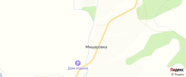 Карта деревни Мишаровки в Башкортостане с улицами и номерами домов