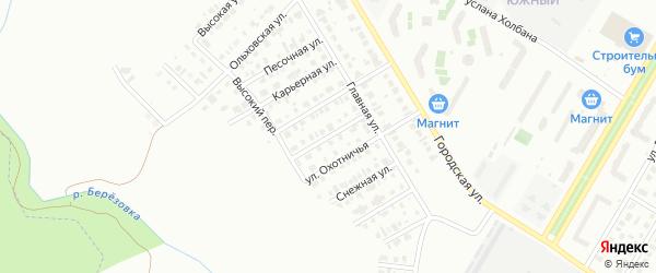 Рассветная улица на карте Нефтекамска с номерами домов