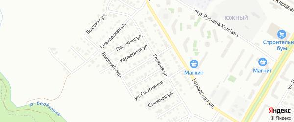 Кленовая улица на карте Нефтекамска с номерами домов