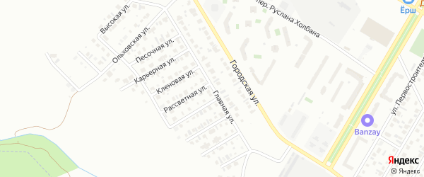 Главная улица на карте Нефтекамска с номерами домов