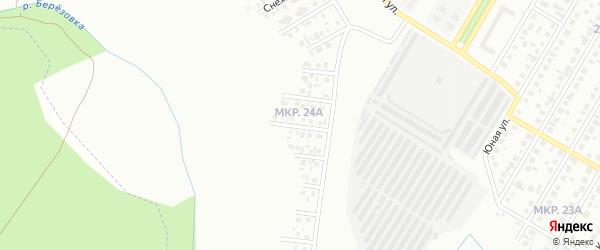 Ивовая улица на карте Нефтекамска с номерами домов