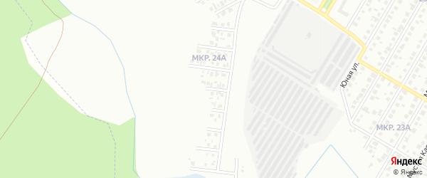 Ивовый переулок на карте Нефтекамска с номерами домов