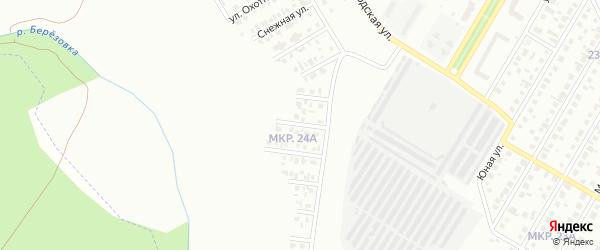 Дорожный переулок на карте Нефтекамска с номерами домов