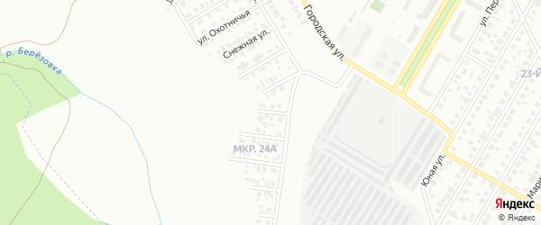 Привольная улица на карте Нефтекамска с номерами домов