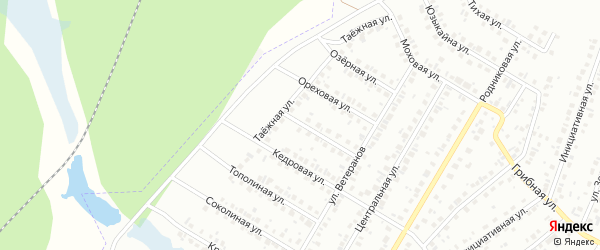 Дубниковая улица на карте Нефтекамска с номерами домов
