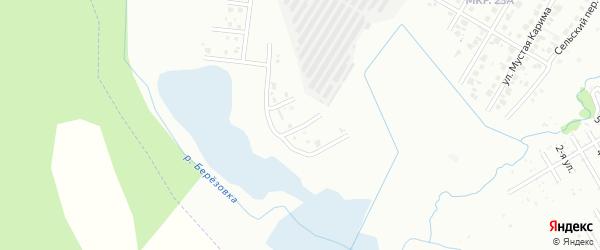 Летний переулок на карте Нефтекамска с номерами домов