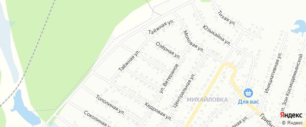Ореховая улица на карте Нефтекамска с номерами домов