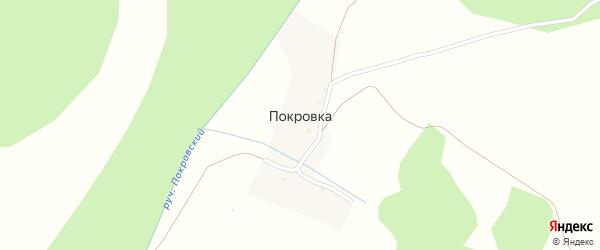 Улица Покровка на карте деревни Покровки с номерами домов