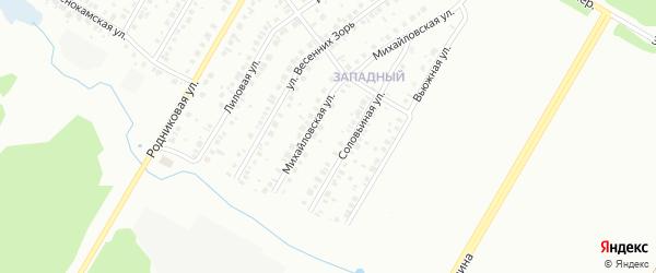2-й квартал на карте СНТ Дружбы НГДУ ЮАН с номерами домов