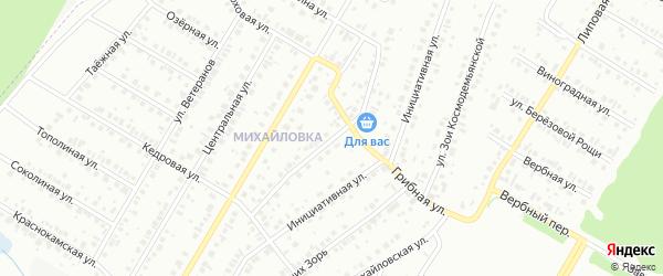 Малая Техснабовская улица на карте Нефтекамска с номерами домов
