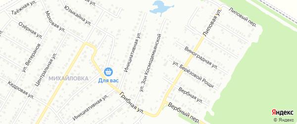 Улица Зои Космодемьянской на карте Нефтекамска с номерами домов