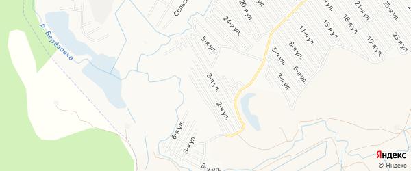 СНТ Дружба на карте Нефтекамска с номерами домов
