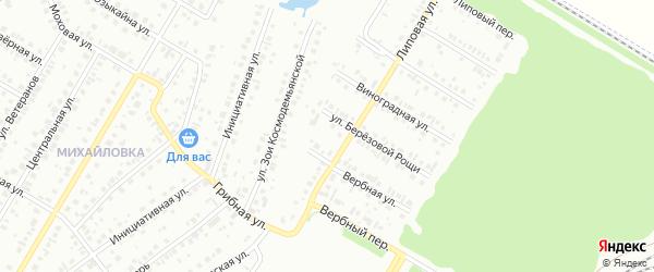 17-я улица на карте СНТ Восхода НГДУ с номерами домов